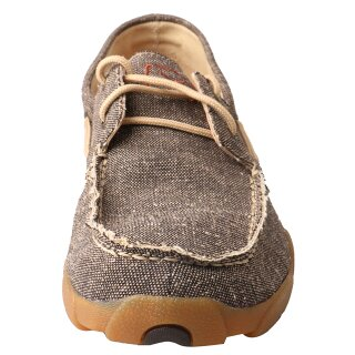 Schnürschuh Twisted X  ECO TWX Mens Driving Mokassin