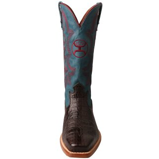 Twisted X Womens Hooey Boot Coffee/blue